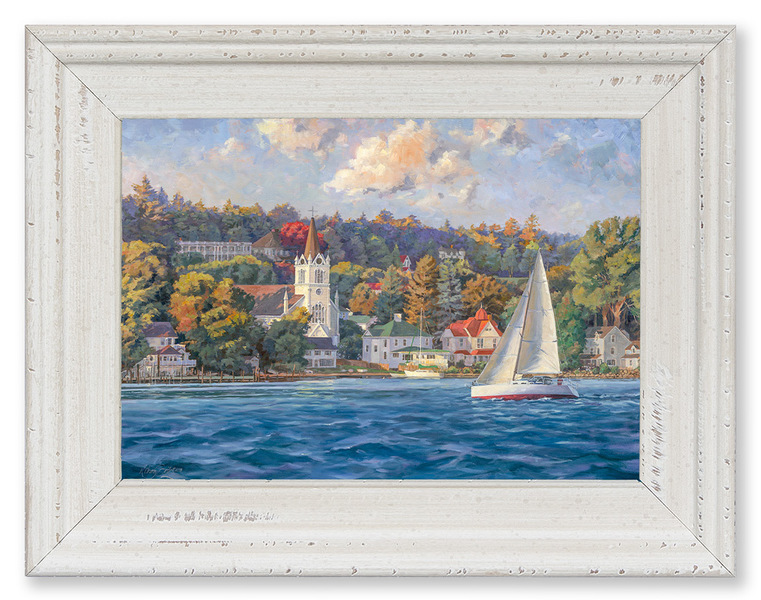 Sailing By St Annes (Mackinac Island, MI)